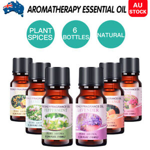 6x10ml-Essential-Oils-set-100-Pure-amp-Natural-Aromatherapy-Diffuser-Essential-Oil
