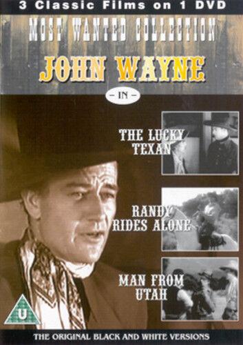 1 of 1 - The Lucky Texan/Randy Rides Alone/The Man from Utah DVD (2004) John Wayne