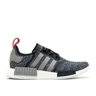 Adidas NMD R1 Glitch Camo Core Black Solid Grey BB2884 Size 8-13