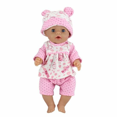Fashion Clothes Suit Fit 43cm Zapf Baby Born Doll 17 Inch Dolls Clothes