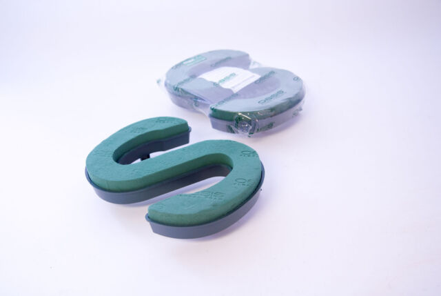 Floral Foam Funeral Letter with Clips A-Z Available Smithers Oasis Plastic Back