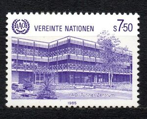 """UN Vienna - 1985 ILO offices Mi. 47 MNH - Enschede, Nederland - UN Vienna - 1985 ILO offices Mi. 47 MNH Click the button below to view more UN lots from our extensive offerings. After clicking select """"UN"""" in the blue side-bar on the left. Our lots start at just €0,25 Combine up to 10 lots for s - Enschede, Nederland"""