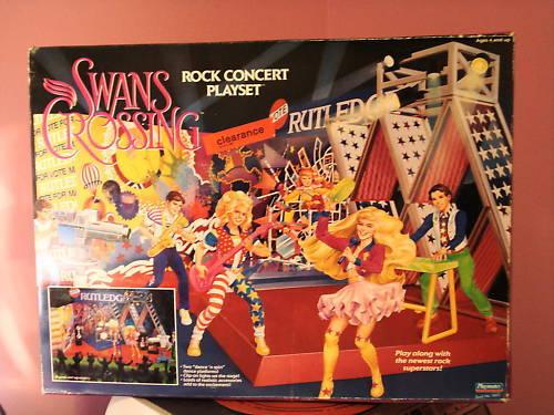 1992 Cisnes Cruce Rock Concert Playset