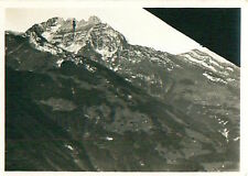 Mürtschenstock Alpes Alps Schweiz Switzerland Suisse Zeppelin Airship CARD 30s