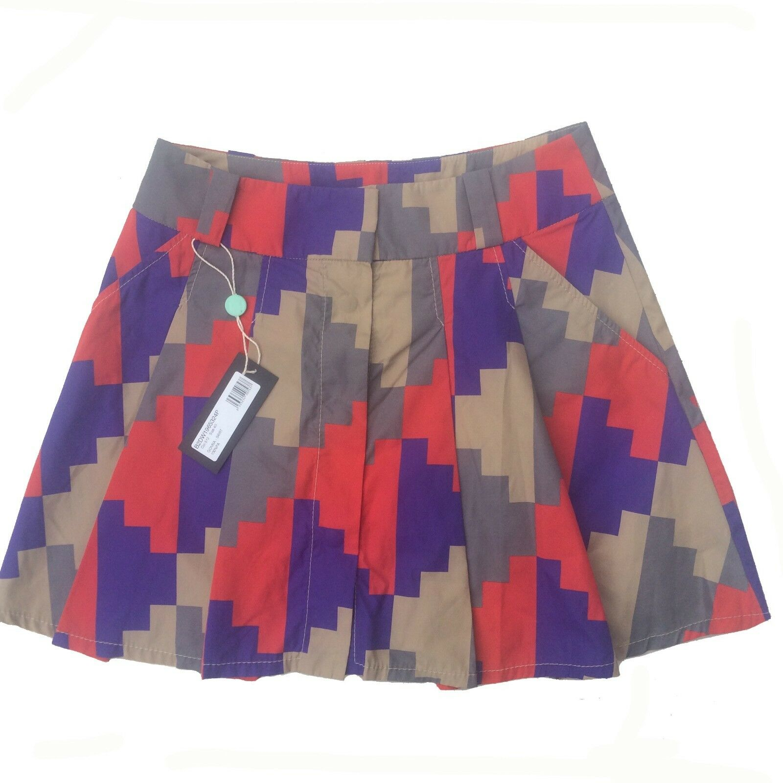 Dirk Bikkembergs Skirt Size 10-12 UK   40 IT New With Tags -