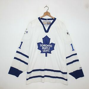 Vintage-Owen-Nolan-Toronto-Maple-Leafs-CCM-NHL-Hockey-Jersey-Mens-Size-2XL