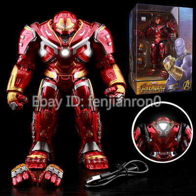 Avengers Armor Iron Man Hulkbuster 2.0 Action Figure Joints Movable 18cm Mark44