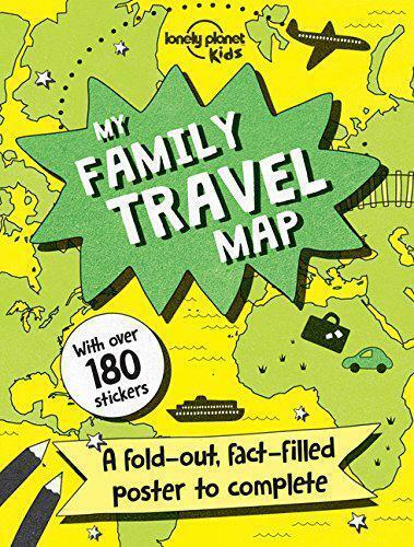 My Family Voyage Carte (Lonely Planet Enfants) Par Lonely Enfants,Neuf Livre