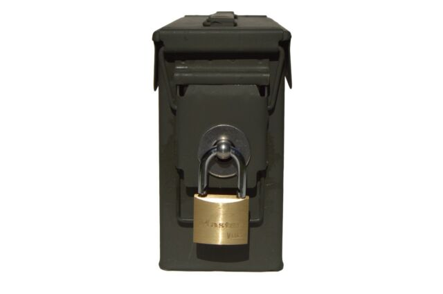 30 Cal 10 Count Fat 50 Ammo Box Can Lock Hardware Kit 50 Cal 20 Mm 40 Mm Formtech Inc Com