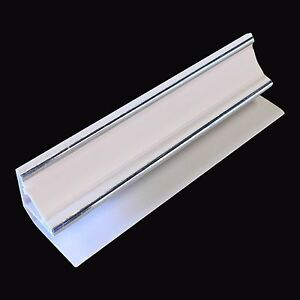 Silver Amp White 10mm Coving Trim For Bathroom Ceiling