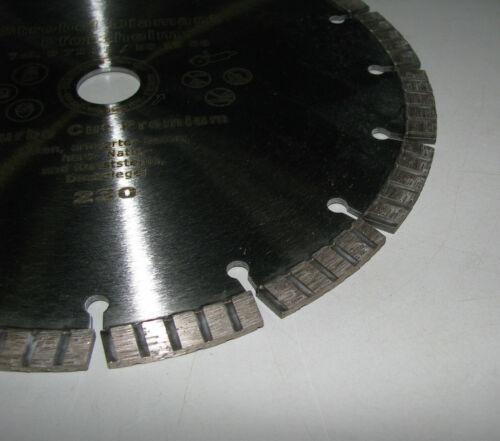 Diamanttrennscheibe 230 Diamant Trennscheibe Turbo Beton Diamantscheibe PREMIUM