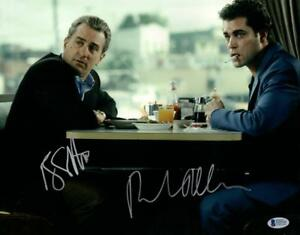 ROBERT-DENIRO-RAY-LIOTTA-SIGNED-11X14-PHOTO-GOODFELLAS-AUTOGRAPH-BECKETT-COA