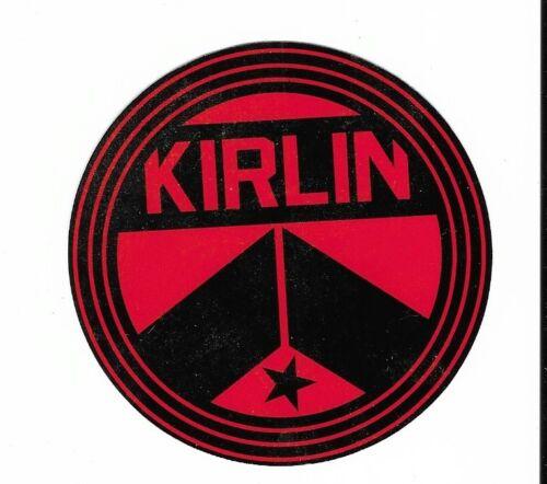 Kirlin Sticker Decal