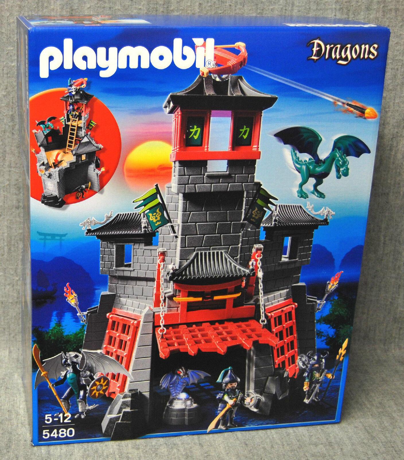 Playmobil 5480 Geheime Drachenfestung – Asia-Drachenland – Dragons Neu