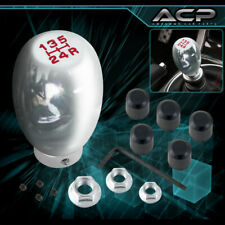 Universal 5 Speed Type R Shift Shifter Knob Manual Transmission Adapter Chrome Fits Chevy