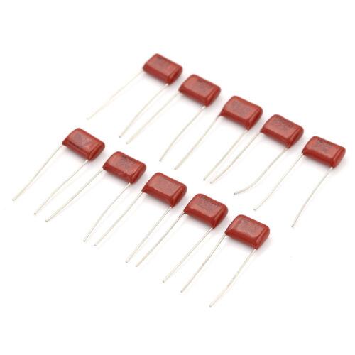 10Pcs 630V 22nf 0.022uf Radial Metallized Polypropylene Film Capaci BRC5