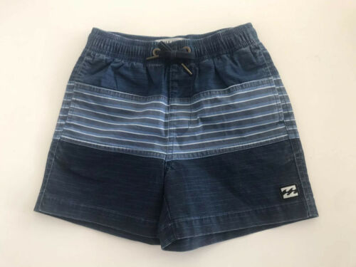 BNWT BILLABONG KIDS UNITED STRETCH SHORTS SIZE 4 LAST PAIR BARGAIN INDIGO