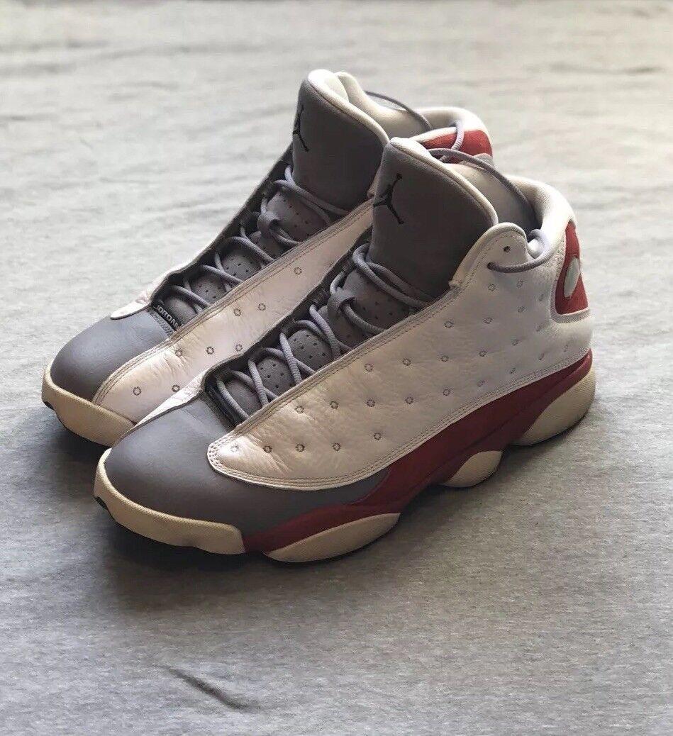 big sale 31838 4611b Air Jordan Jordan Jordan XIII 13 Retro Grey Toe, white true ...