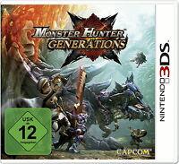 Monster Hunter Generations (Nintendo 3DS, 2016)