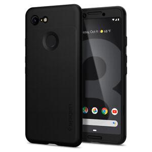 Pixel-3-3XL-Spigen-Thin-Fit-360-Hybrid-Cover-Case-Glass-Screen-Protector