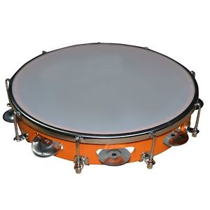 Tambourine khanjiri Hand Percussion Musical Instrument party drum indian style