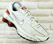 NIKE Shox Turbo VII Womens White Sports Shoes Running Trainers Size 5 UK 38 EU