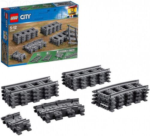 LEGO 60205 City Treni Binari 20 Pezzi Di Qualità Accessorio Set Multicolore