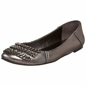 Ballet Raffi West 9 Us dark Flat M Nine Women's Silver 5 pZgwRq