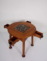 Englischer Jugendstil SCHACHTISCH SPIELTISCH arts and crafts chess table échecs