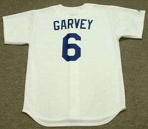 Image is loading STEVE-GARVEY-Los-Angeles-Dodgers-1981-Majestic-Cooperstown- 36c7428d5d4