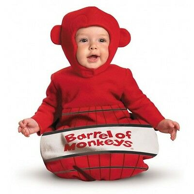 Barrel of Monkeys Board Game Cute Dress Up Halloween Infant Baby Child Costume