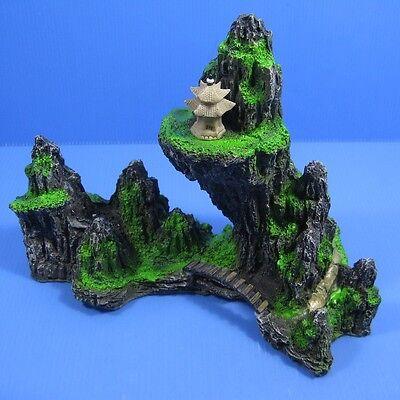 Mountain View Aquarium Ornament tree - Rock Cave Bridge