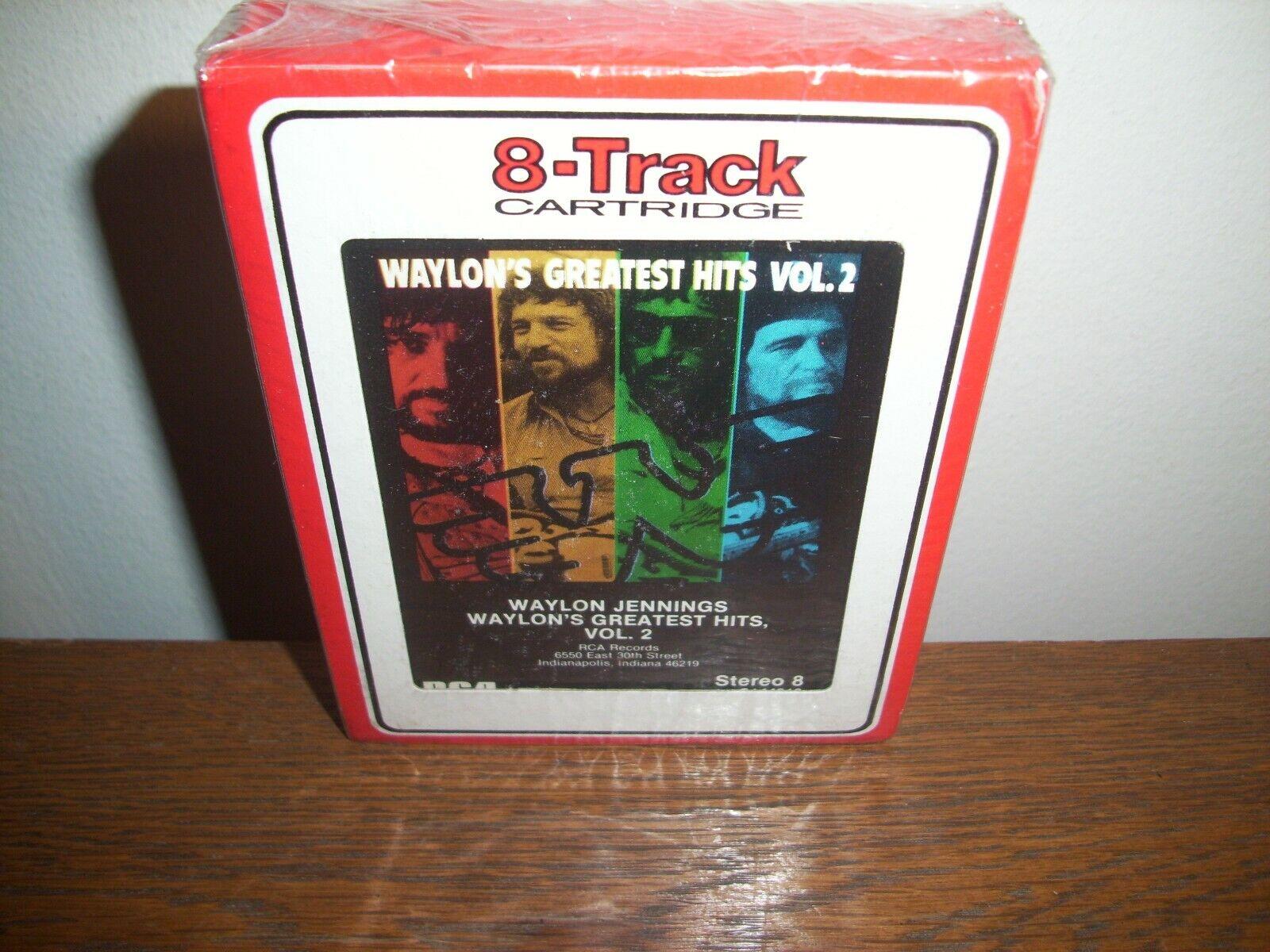 Nuevo Sellado de 1984 Waylon Jennings -  Los Dukes de Hazzard  canción del tema cinta de 8 Pistas