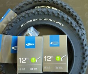2-X-Tyres-BLACK-JACK-SCH-12x1-90-47-203-Hoses-AV-Angled