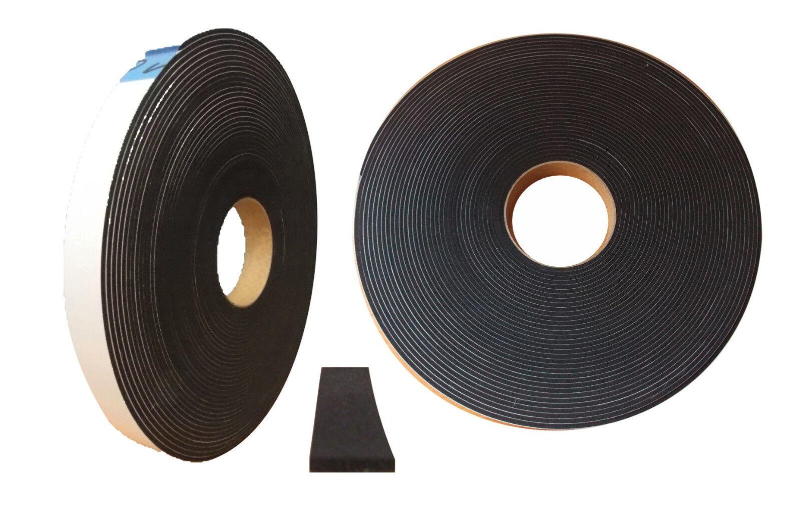Moosgummi EPDM Flex Zellkautschuk Band selbstklebend UV-Besteändig •diverse Maße•