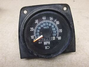 Details about Vintage Mack Truck Speedometer/Odometer *FREE SHIPPING*