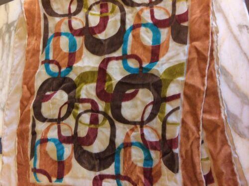 Vintage Katja Katjacrepe Bold Geometric Blue Pink