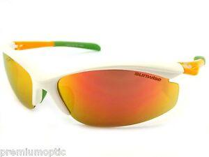 c7c79e9ea939 SUNWISE Sports Sunglasses PEAK MK1 White   Fire Red MIRROR cycling ...