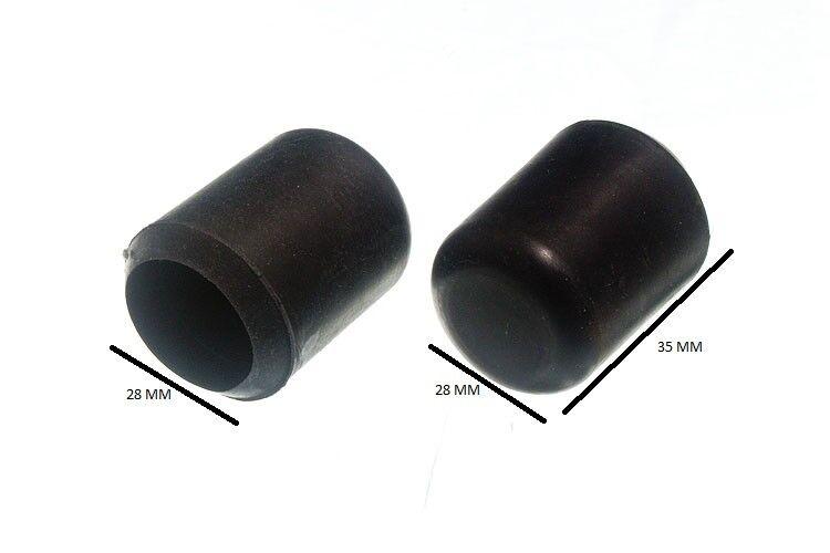 Predector de Piso de Silla Muebles Virola black 2.2cm Id 22mm Paquete de 100