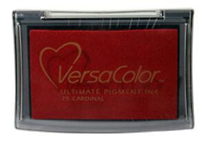 VersaColor - VC25 - Cardinal rot - Pigment Stempelkissen - Tsukineko ~9,5x6,5cm