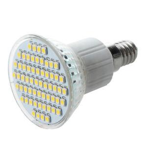 E14-SMD-60-LED-Strahler-Lampe-Birne-Licht-Warmweiss-3W-K3B4