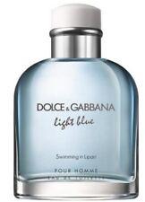Dolce & Gabbana Light Blue Swimming in Lipari edt 4.2 oz men TESTER