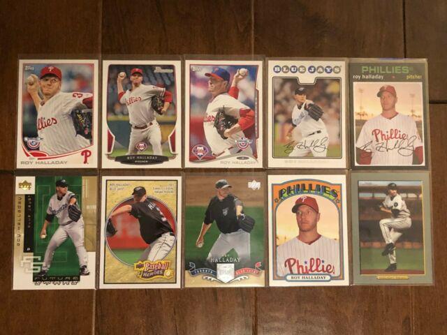 Roy Halladay - Toronto Blue Jays - 10 Baseball Card Lot - No Duplicates