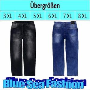 Das Bild wird geladen LAVECCHIA-Ubergroesse-Denim-Jeanshose-stone-washed -black-blue- cbfaf22616