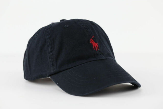 Polo Ralph Lauren Adjustable Strap Pony Logo Baseball Hat One Size ... d6908a06b920