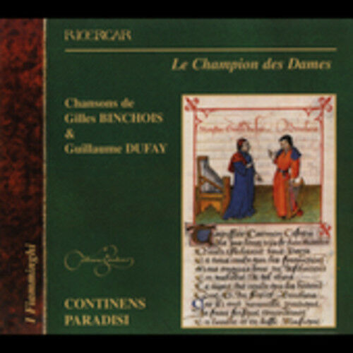 Continens Paradisi - Champion Des Dames [New CD]