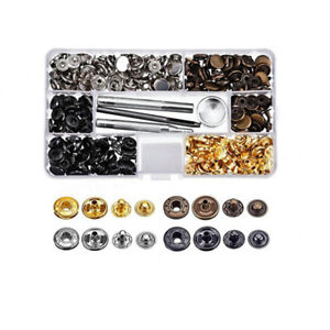 Buy Cheap 160pcs 12mm Metal Snap Buttons 4 Color Combination Kit With 4 Tools Snap Press Button Fasteners For Garments Clothing Jeans Coat Apparel Sewing & Fabric