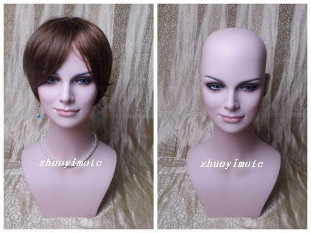 Female Mannequin Head For Wig, Jewelry And Hat Display