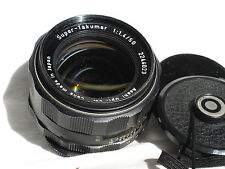 PENTAX Super Takumar 50mm F 1.4 lens, PENTAX M42 screw mount.
