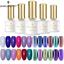 BORN-PRETTY-6ml-Shimmer-Glitter-UV-Gel-Nail-Polish-Sequins-Varnish-DIY thumbnail 3
